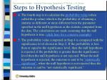 steps to hypothesis testing1