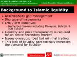 background to islamic liquidity1
