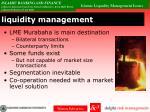 liquidity management1