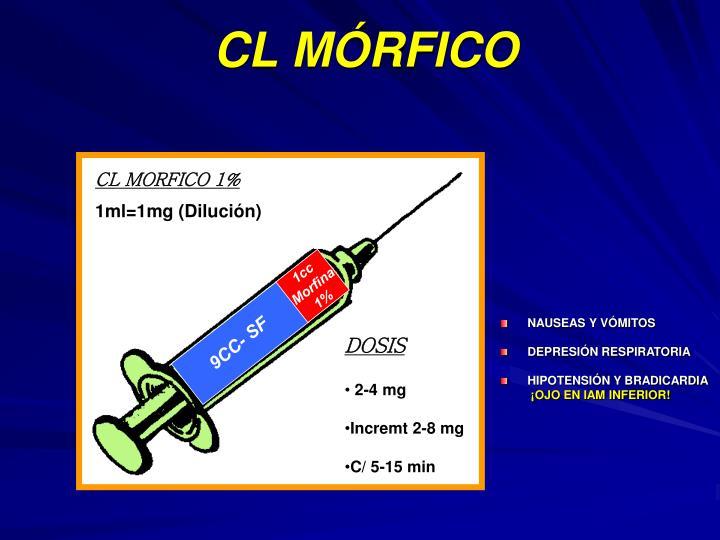 CL MÓRFICO