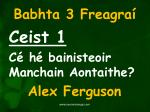 babhta 3 freagra1