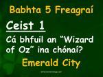 babhta 5 freagra1