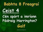 babhta 8 freagra4