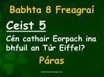 babhta 8 freagra5