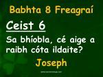 babhta 8 freagra6