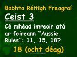 babhta r itigh freagra3