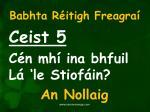 babhta r itigh freagra5