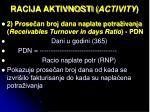 racija aktivnosti activity1