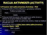 racija aktivnosti activity2
