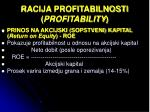 racija profitabilnosti profitability2