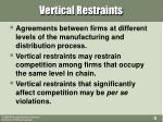 vertical restraints1