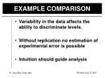 example comparison