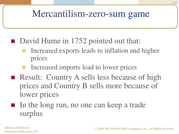 David Hume in 1752 pointed out that: