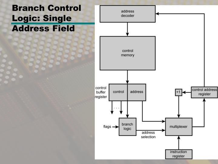 Branch Control