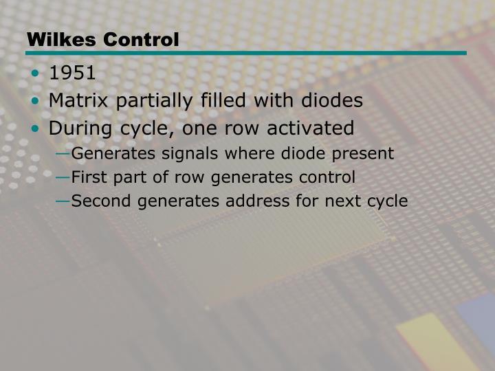 Wilkes Control