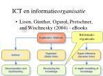 ict en informatie organisatie1