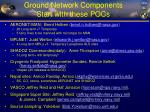 ground network components start with these pocs