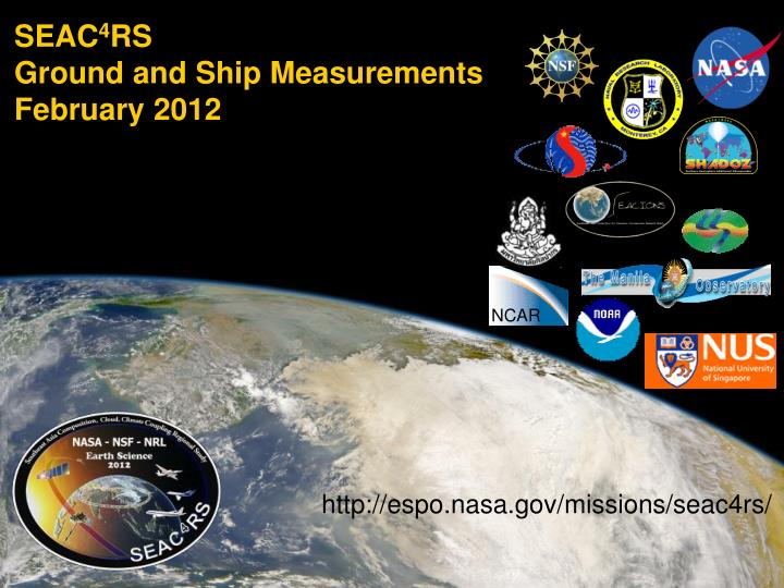 seac 4 rs ground and ship measurements february 2012 n.
