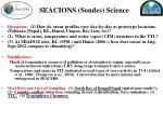 seacions sondes science