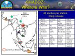 shadoz where who