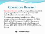 operations research2