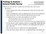 findings analysis general public survey15