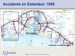 accidente en estambul 1998