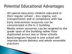 potential educational advantages2
