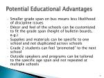 potential educational advantages3