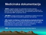 medicinska dokumentacija1