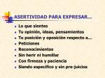 asertividad para expresar