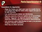 parte experimental iii1