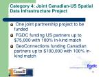 category 4 joint canadian us spatial data infrastructure project2