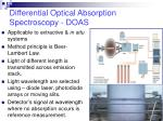differential optical absorption spectroscopy doas