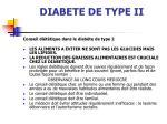 diabete de type ii
