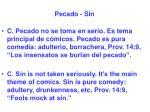 pecado sin13