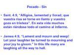 pecado sin15