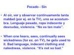 pecado sin19