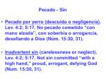 pecado sin31
