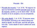 pecado sin33