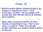 pecado sin46