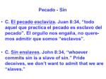 pecado sin47