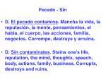 pecado sin50