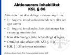 aktion rers inhabilitet ksl 86