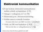 elektronisk kommunikation