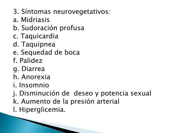 3. Síntomas