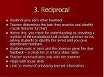 3 reciprocal