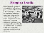 ejemplos brasilia