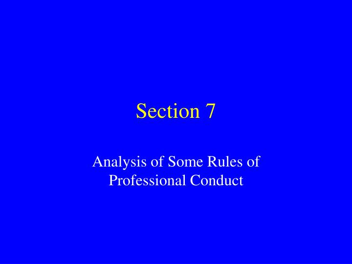 section 7 n.