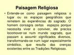 paisagem religiosa